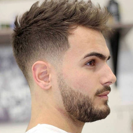Coupe Homme Barbe Coiffure Ville Emard